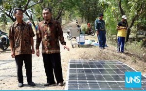 Dr. Zainal Arifin Involved in the Research of Solar Water Pump Systems