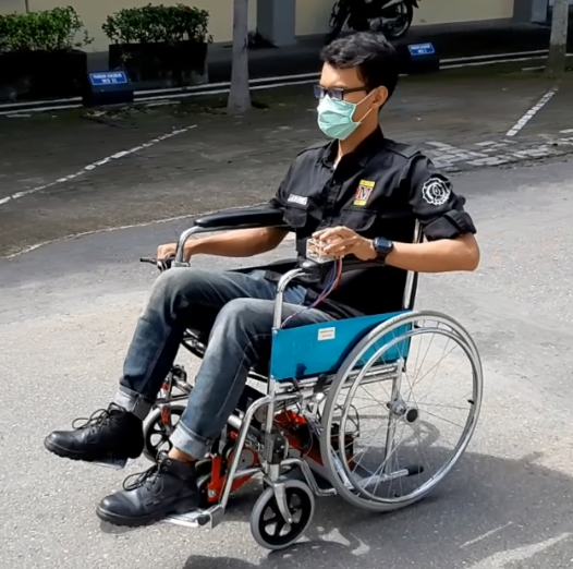 Support System Kit for Wheel Chair – A New Innovation by Mechanical Engineering UNS