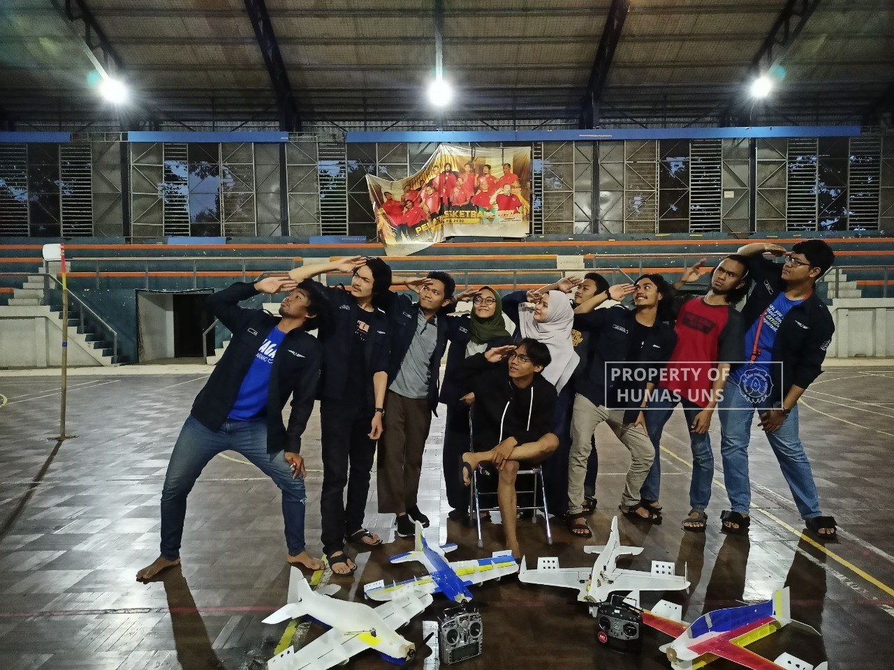 Tim Bengawan UV UNS Raih Juara di Technogine 2020