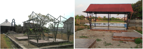 Training and Assistance in Designing a Steel Gazebo for Welder in Jaten Village